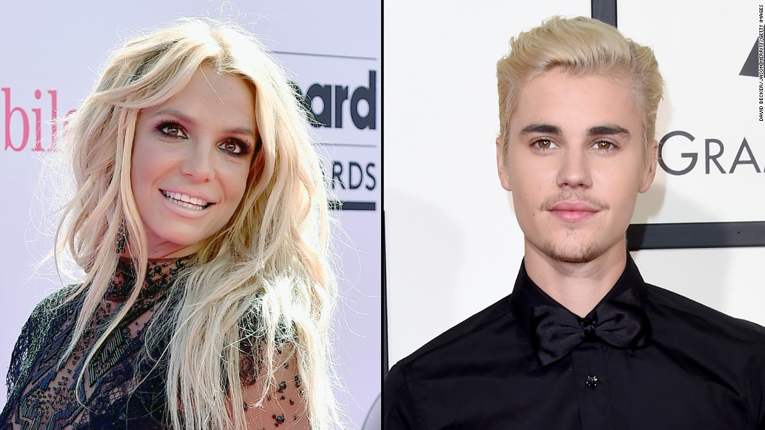 justin bieber and britney spears dating