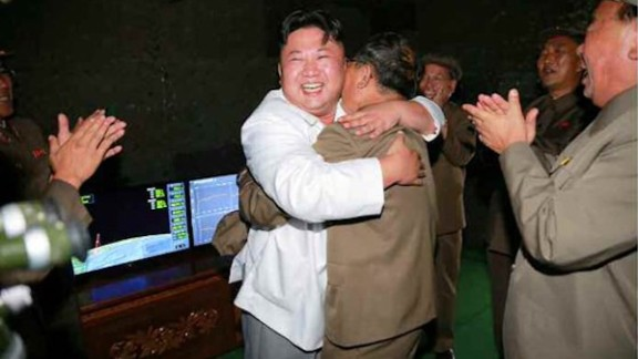 North Korean leader Kim Jong Un oversees the August testing of a submarine launched ballistic missile test which he claimed as a success.