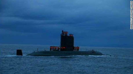 US detects odd sub activity from North Korea