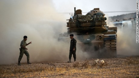 Turkey targets Kurdish forces in Syria