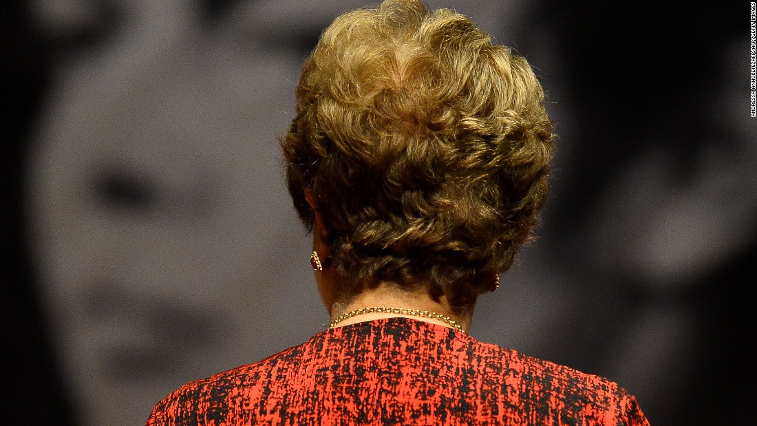 After the Senate voted for her impeachment, Rousseff was officially removed from office Wednesday afternoon.