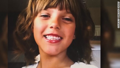 Police say 10-year old Victoria Martens was killed Wednesday in Albuquerque, New Mexico. Her mother is one of three suspects arrested in the case.