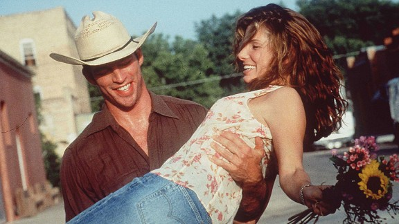 """""""Hope Floats"""" :  Harry Connick Jr. and Sandra Bullock reunite in this romantic drama about a woman who returns home to her small town after her marriage collapses.  (Netflix)"""