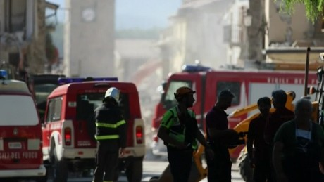 Why is rescue work in Italy is so hard?