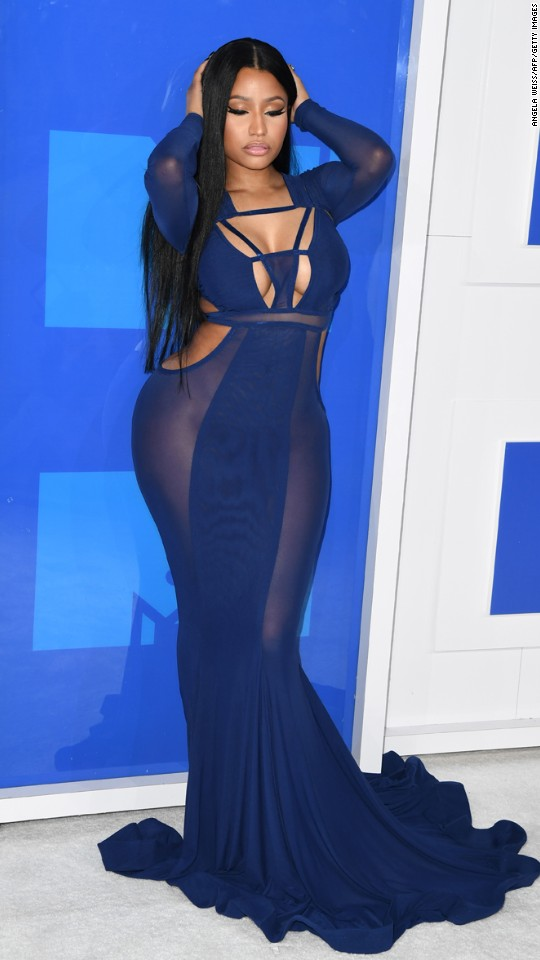 Nicki Minaj attends the 2016 MTV Video Music Awards at Madison Square Garden on Sunday, August 28, in New York.