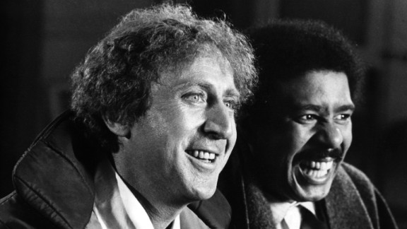 American comic actor Gene Wilder, originally Jerry Silkman stars with nightclub comedian Richard Pryor in the action comedy 'Silver Streak'. Directed by Arthur Hiller, the film was chosen for the 31st Royal Film Festival.