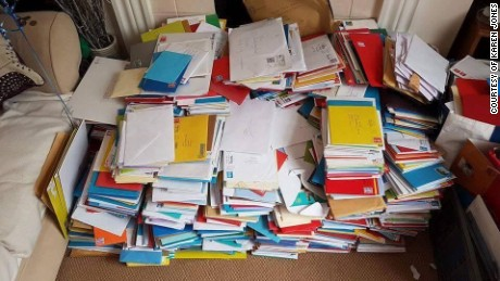 Unopened Birthday Cards Sent By Well Wishers From Around The World