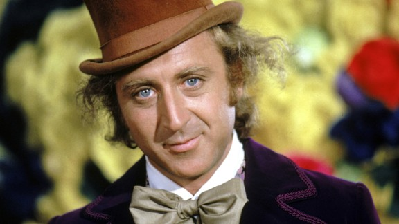 """Comedic actor Gene Wilder, seen here as candy tycoon Willy Wonka in the 1971 classic """"Willy Wonka & the Chocolate Factory,"""" died Monday, August 29, at the age of 83."""