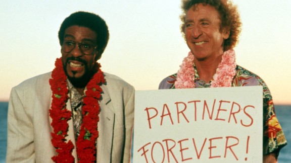 """Wilder and Pryor in 1991's """"Another You."""" It was the last leading role for both of them."""