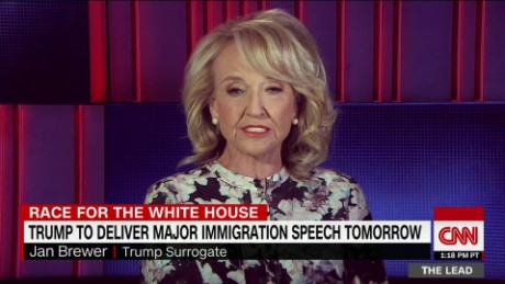 donald trump fmr governor jan brewer arizona primary lead tapper intv_00012305