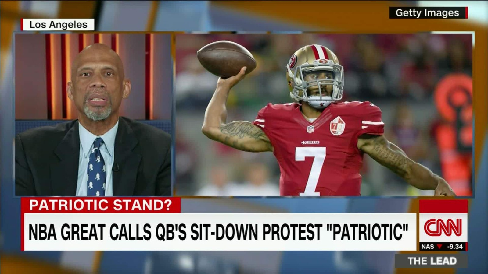 736ee508d I was on board with Kaepernick until.... - CNN