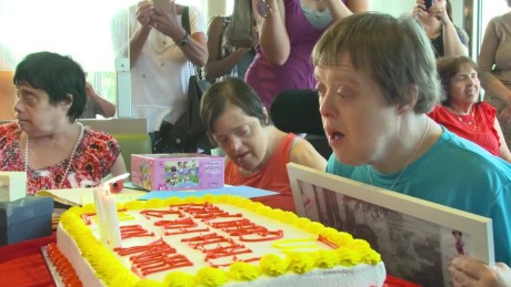 woman with down syndrome retires pkg_00001817