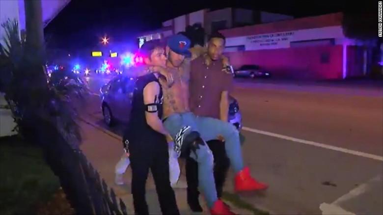 Orlando Pulse 911 Caller Gunshots Were Just Going Like