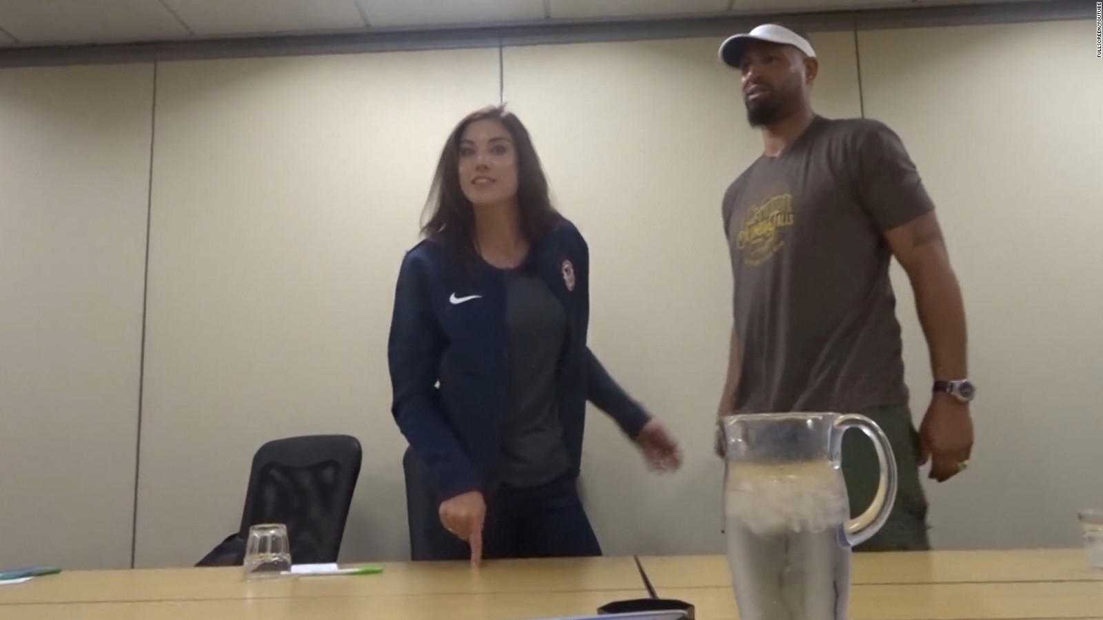 1c49b76ea5c Hope Solo  Fighting for equality  in a lonely world  - CNN