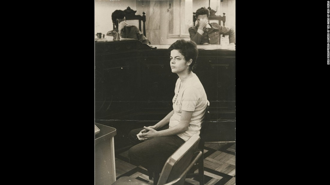 As young Marxist during Brazil's military dictatorship, Dilma Rousseff was charged by a military court with subversion and jailed in November 1970. Rousseff has said she was tortured with electrical shocks by her captors during her imprisonment.