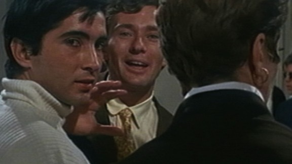 """The guru known as """"Michel,"""" left, in the 1968 film """"Rosemary's Baby."""""""