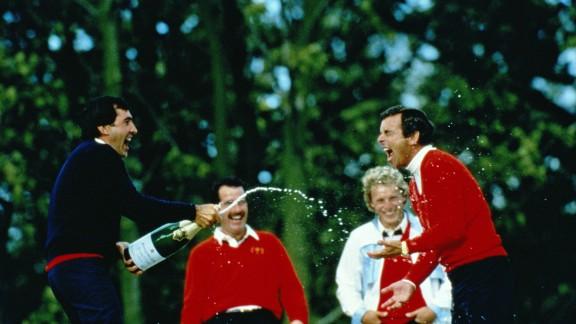 Seve Ballesteros was a key part of Europe's 1985 triumph.