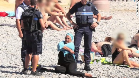 French officials push back against burkinis