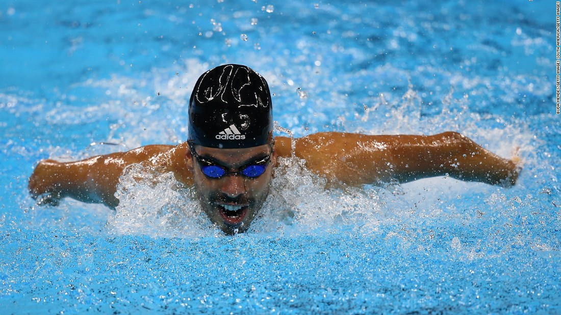 Swimmer Daniel Dias is Brazil's version of Michael Phelps and its most successful sportsman in recent years. He won nine medals at the Beijing Games in 2008 and six Paralympic golds at London 2012, setting four world records in the process.