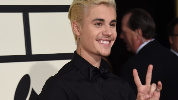 "22. Won his first Grammy: While his music career has been huge, it wasn't until 2016 that Bieber won a Grammy thanks to his collaboration with Diplo and Skrillex. Their ""Where Are U Now"" single took home the tropy for best dance recording,"
