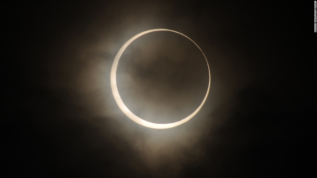 TOKYO, JAPAN - MAY 21:  Annular Solar Eclipse is observed on May 21, 2012 in Tokyo, Japan. It is the first time in 25 years since last annular solar eclipse was observed in Japan.  (Photo by Masashi Hara/Getty Images)