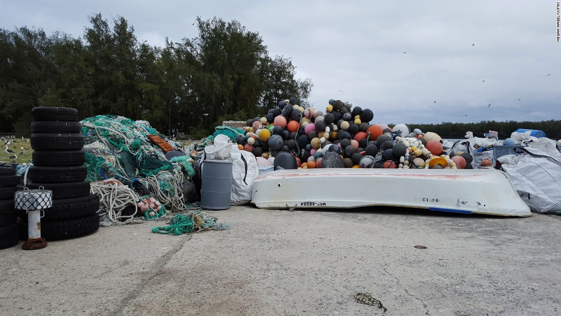Tons of plastic debris washes ashore on Midway each year and it's taking a devastating toll on the wildlife there.