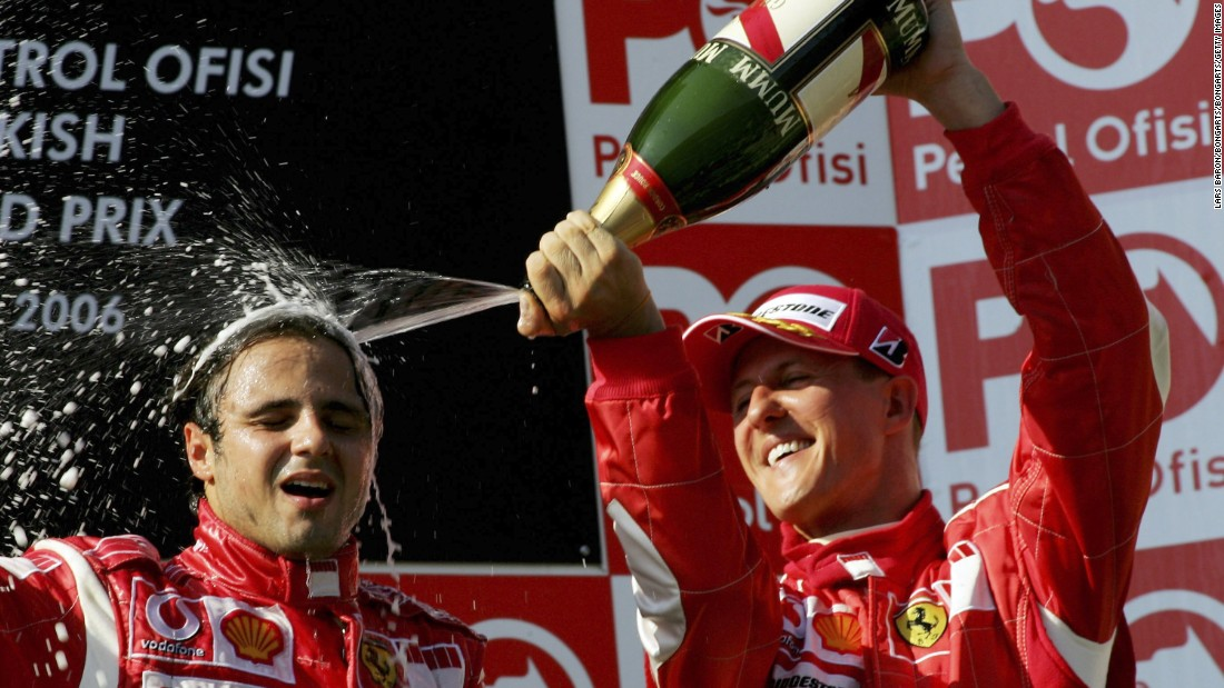 And that elusive first Formula 1 victory came soon after, as Massa took the plaudits in Turkey after his maiden pole position. Ferrari retained the Brazilian after a series of other impressive performances.