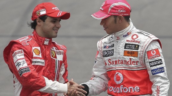 He would go on to enjoy his most successful period on the track with Ferarri, as the Brazilian clocked up 11 race wins and 36 podiums. Just a single point separated Massa from the championship in 2008 as he pushed McLaren