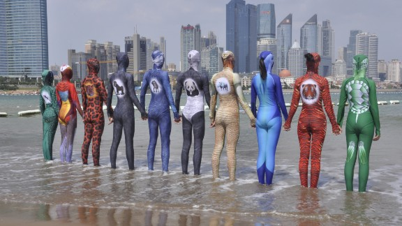 Zhang says she's sold more than 20,000 facekinis this summer.
