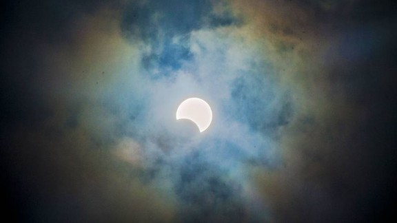 The 'ring of fire' solar eclipse graced the skies of Africa Thursday.