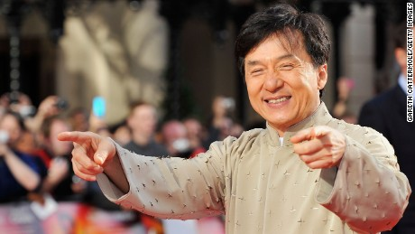 Jackie Chan started acting when he was a child.