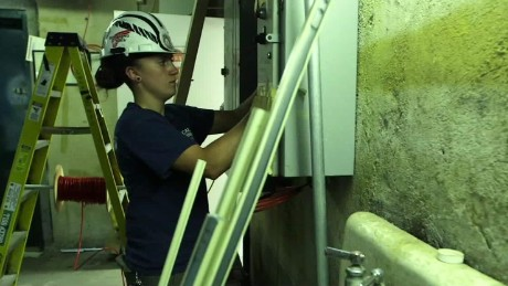 Millennials turn to blue collar jobs