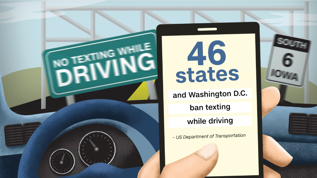 why texting while and driving should Is texting while driving worse than driving drunk disrupt your feed we should increase punishment for people caught texting while driving drop this fact in 2013, 3,154 people died and another 424,000 were injured in motor vehicle crashes caused by drivers who were distracted.