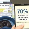 driving while distracted teen app