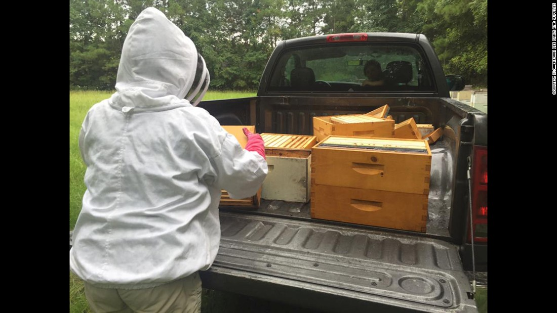 """I don't know the long term effect on my hives, the honey, the equipment,"" said Stanley. ""I don't know if it's contaminated or not."""