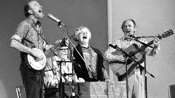 Fred Hellerman, a singer and composer who was the last surviving member of the iconic and influential folk music quartet the Weavers, died September 1 at the age of 89. He is on the right along with the other members of his quartet.