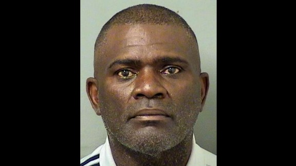 This booking photo provided by the Palm Beach County Sheriff's Department shows ex-NFL football player Lawrence Taylor, who was arrested on August 2 in Palm Beach County, Florida on a DUI charge.