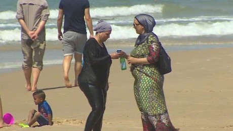 Burkini not a problem on israeli beaches cnn video burkini not a problem on israeli beaches publicscrutiny Image collections