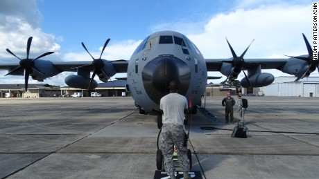 Hurricane Hunters prepare for mission