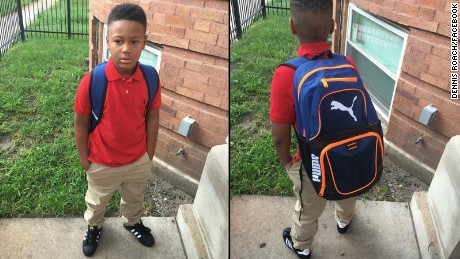 Chicago dad prays son will be safe on first day of school