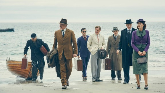 """""""And Then There Were None"""" : Fans of the bestselling novel will recognize this story about a dinner party on an isolated island where the guests begin dying one by one. (Acorn TV)"""