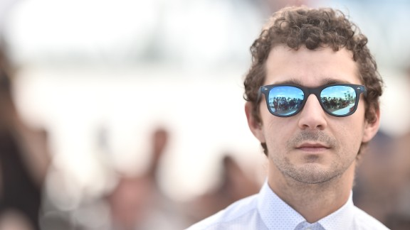 """Actor Shia LaBeouf attends the """"American Honey"""" photocall during the 69th annual Cannes Film Festival at the Palais des Festivals on May 15, 2016 in Cannes, France."""