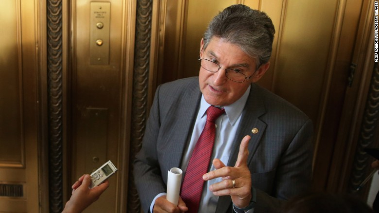 Manchin talks immigration, Mueller