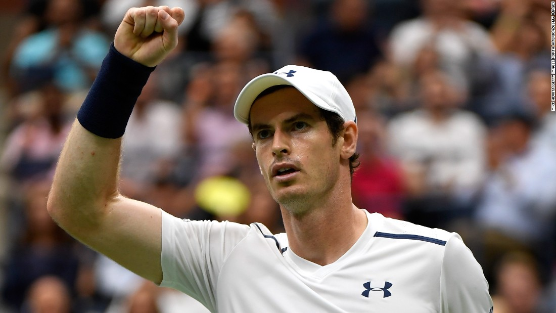 Andy Murray, the world No. 2, started the better in his quarterfinal against Kei Nishikori on Wednesday. He led 6-1.