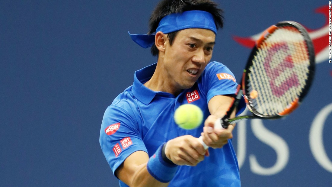 But when the roof was closed in the second set, 2014 US Open finalist Nishikori found his game.