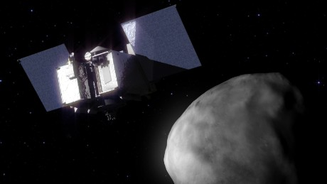NASA's spacecraft travels around an asteroid more than ever