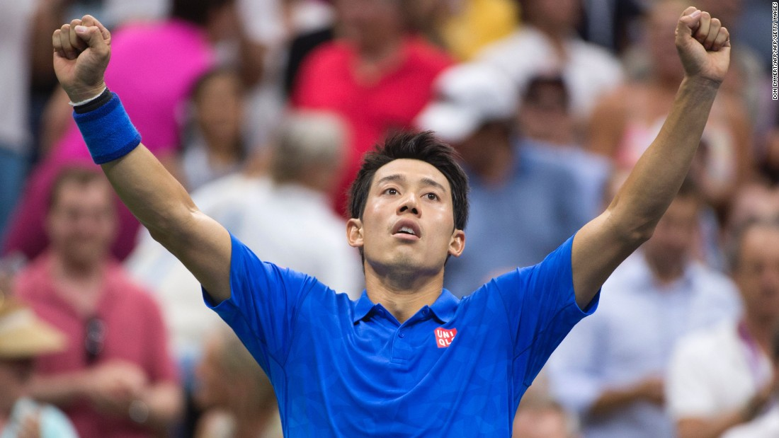 Nishikori prevailed 7-5 in the fifth to end his 12-match losing streak against top-two rivals.