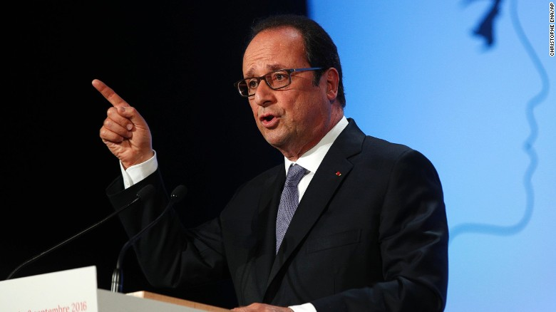 French President calls for ban of foreign-trained imams