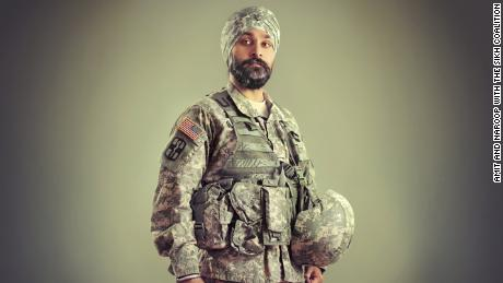Major Kamaljeet Singh Kalsi was born in India and moved to New Jersey when he was two. He was the only Sikh child in his public schools, and he went on to become the first Sikh American to be granted a religious accommodation to serve in the U.S. military since the ban on Sikhs in the 1980s. Today, despite his accommodation, the presumptive ban still remains against Sikh Americans who wish to serve in our armed forces, and Major Kalsi continues to dedicate much of his life towards working to end religious discrimination in the military.