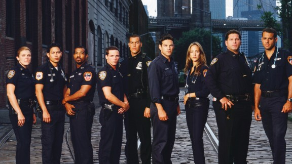 "Cast of ""Third Watch"" Molly Price, Anthony Ruivivar, Michael Beach, Jason Wiles, Coby Bell, Eddie Cibrian, Kim Raver, Skipp Sudduth, Bobby Cannavale"